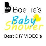 boetie's baby shower DIY videoá